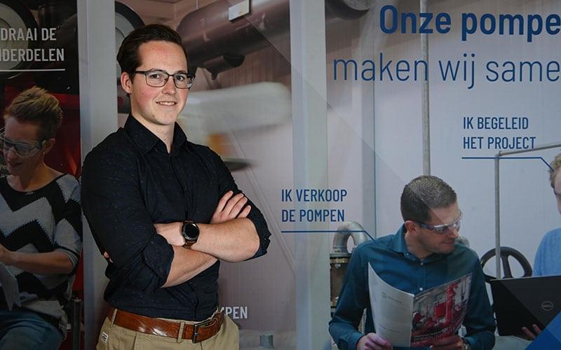 Stagiair technische bedrijfskunde - Daniël Klein Nibbelink