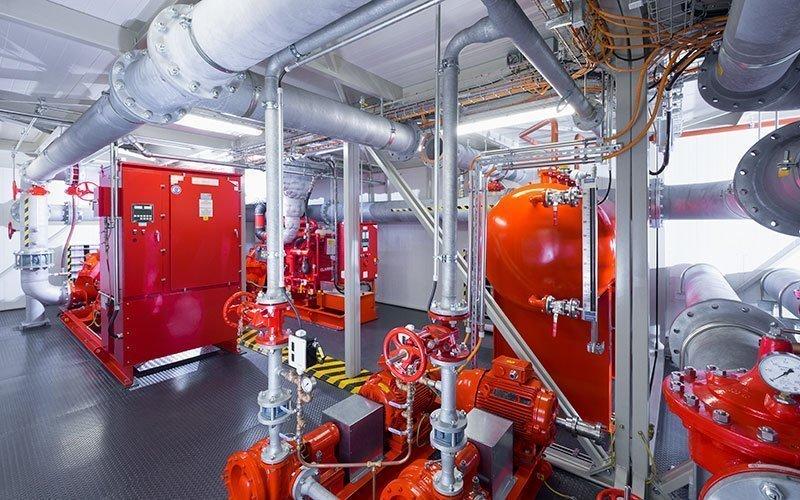 Pentair project pompen brandveiligheid