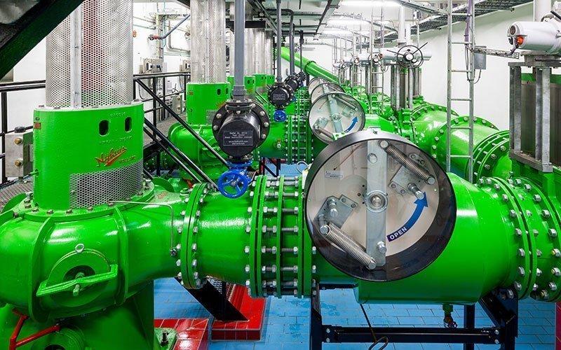 Pentair project riool- en afvalwater