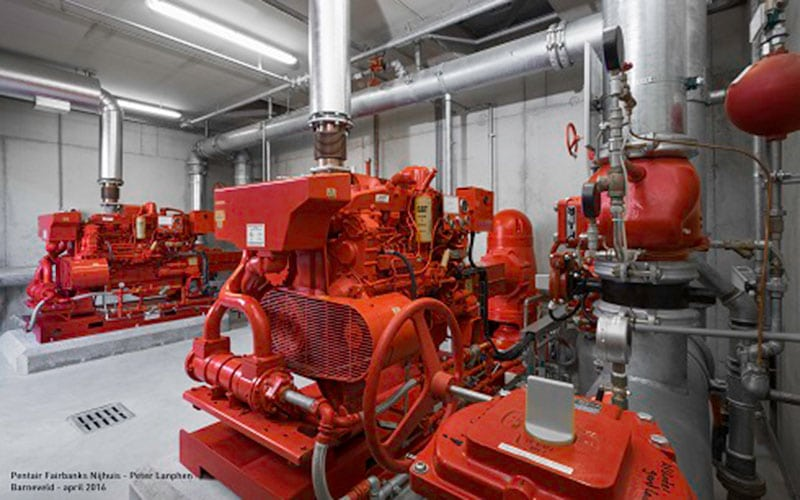 Pentair project brandveiligheid