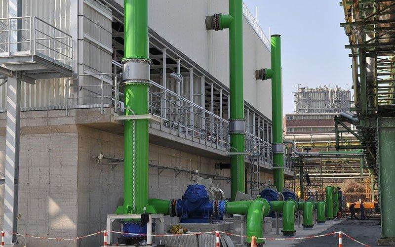 Pentair project industrie- en koelwater