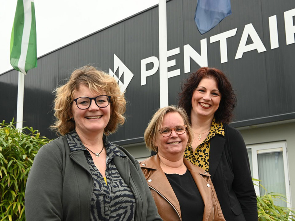 Pentair team HR Communicatie