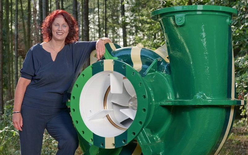 Ester Reusink manager communicatie Pentair
